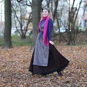 Комплект (юбка+платье-туника+повязка на голову)