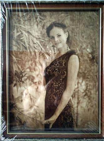 Портрет на заказ по фотографии А3 (A4, A5) ручной работы на заказ