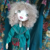 Текстильная кукла Дубравка