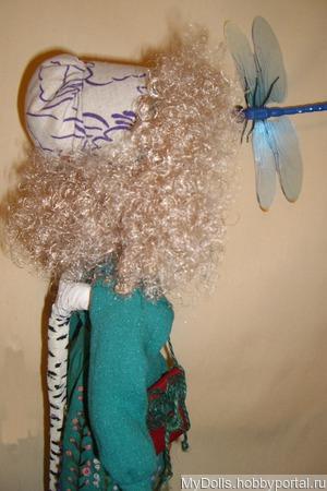 Текстильная кукла Дубравка ручной работы на заказ