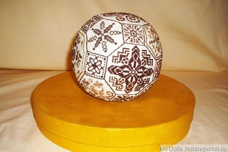 Квакерский мяч ручной работы на заказ
