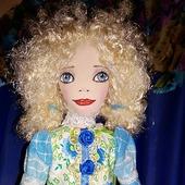 Кукла Танечка-колокольчик