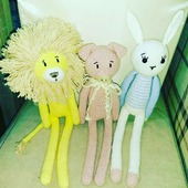 Вязаные игрушки на заказ