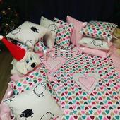 Бортики в детскую кроватку, постельное белье