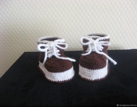 Шапочка для новорожденных 1 ручной работы на заказ
