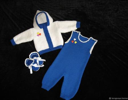 Комплект для новорожденных 4 ручной работы на заказ