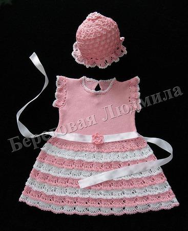 Комплект для девочки Нарядный ручной работы на заказ
