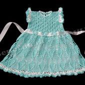 """Платье для девочки """"Льдинка"""""""
