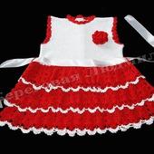 """Платье для девочки """"Кокетка"""""""