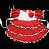 Платье для девочки Кокетка 1