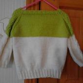 Пуловер для девочки
