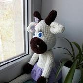 фото: Куклы и игрушки (вязаная корова)