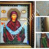 """Вышитая картина """"Покров Пресвятой Богородицы"""""""
