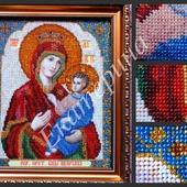 """Вышитая картина """"Пресвятая Богородица Иверская"""""""
