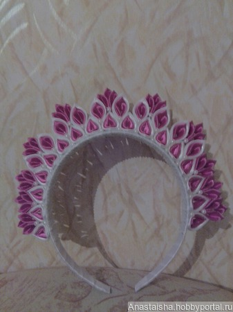 Корона для принцесс ручной работы на заказ