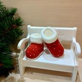 Пинетки детские новогодние