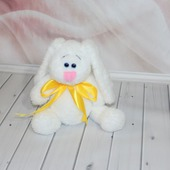 фото: Куклы и игрушки (зайчик крючком)