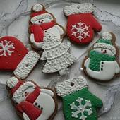 """Пряники """"Подарок от Деда Мороза"""""""