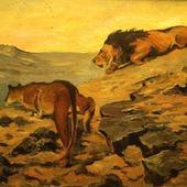фото: Картины и панно: масло, животные (прекрасный подарок)