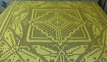 Скатерть «Бабочки» ручной работы на заказ