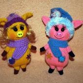 Поросюшки - новогодние игрушки