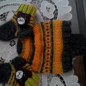 Детские шапочка и носочки