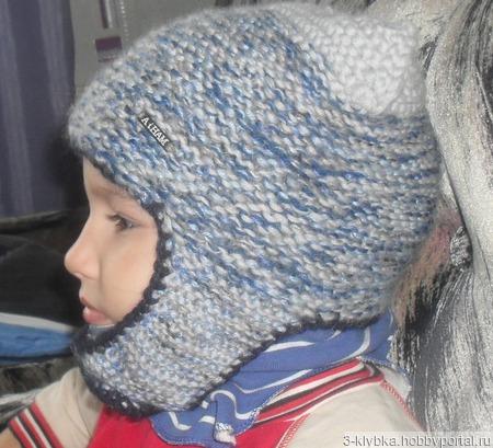 Шапка детская очень тёплая 3-4 годика ручной работы на заказ