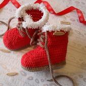 "Ботиночки ""Christmas"""
