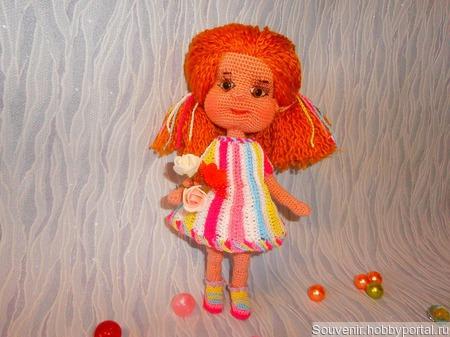 Кукла Карамелька ручной работы на заказ