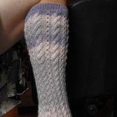 Носочки из шерсти