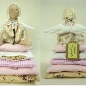 """Интерьерная игрушка """"Розовый ангел"""""""