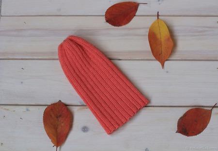 Модная шапочка Тыковка ручной работы на заказ