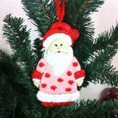 Пряник-подвеска Дед Мороз