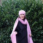 Вязаный шарф длинный с бахромой из мохера