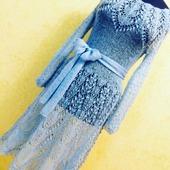 Платье «Голубой топаз»