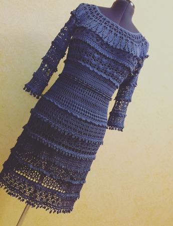 """Платье """"Евгения"""" ручной работы на заказ"""