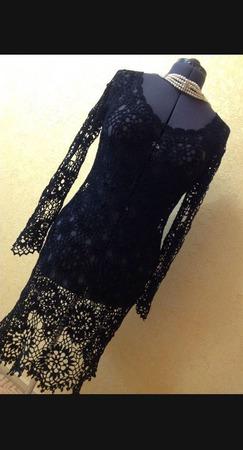 Маленькое чёрное платье ручной работы на заказ