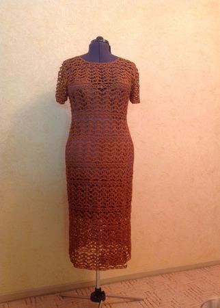 """Платье """"Женственность и строгость"""" от Стюарта Веверса ручной работы на заказ"""