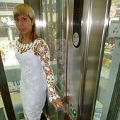 """Платье """"Белые ажуры"""""""