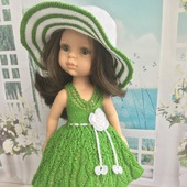 Мастер- класс по вязанию для кукол Paola Reina 32-34 см « Летнее настроение»
