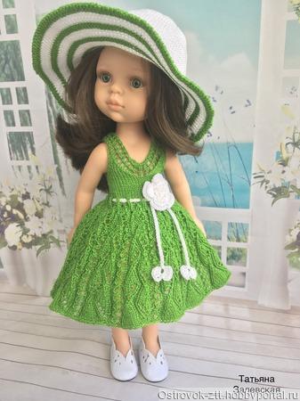 Мастер- класс по вязанию для кукол Paola Reina 32-34 см « Летнее настроение» ручной работы на заказ