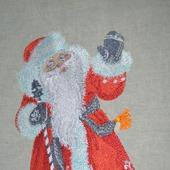 """Дизайн для вышивки """"Дед мороз"""""""