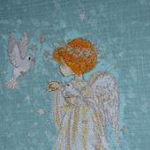 """Дизайн для вышивки """"Ангел"""""""