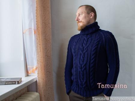 """Мужской свитер """"Викинг"""" ручной работы на заказ"""