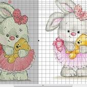 """Дизайн для вязания """"Зайчишка"""""""