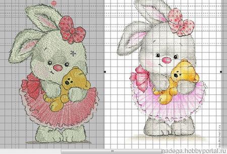 """Дизайн для вязания """"Зайчишка"""" ручной работы на заказ"""