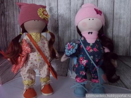 Кукла тыквоголовка ручной работы на заказ
