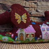 Декоративные подушка-игрушка