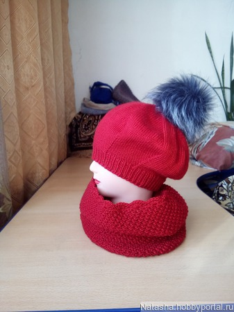 Шапка - вязание на заказ ручной работы на заказ