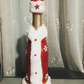 Съемное украшение на шампанское